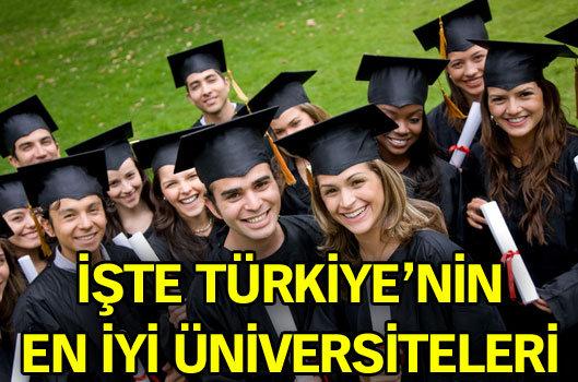 Türkiyenin En İyi Üniversiteleri